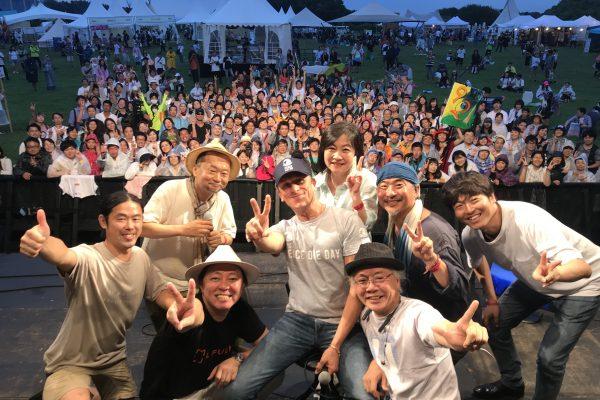 日本における国連が定めた「ピースデー」元年!ジェレミー・ギリーさんが来日しました。